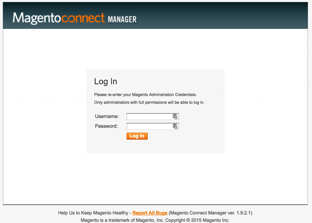 Magneto Connect Login